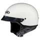 CS-2N White Half Helmet
