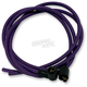 Purple Cloth Covered Ignition Wire Kit - PRPL-WIRE