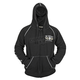 Black We The Fast Armored Hoody