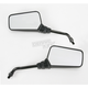 Black Universal Rectangular Mirror - 20-25105