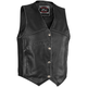 Womens Rambler Distressed Leather Vest