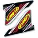 Factory 4.1 U.S.A. 2-Part Wrap Logo Decal - 012636