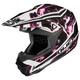 Black/Pink/White Hydron CL-X6 Helmet