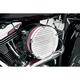 Chrome Big Sucker Derby Cover Air Filter Kit w/Pre-Oiled Standard Filter - 18-380