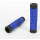 Blue/Black 5 in. Cush Dual-Ply Grips - J10CHU