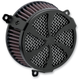 Black Swept Air Cleaner Kit - 606-0100-01B