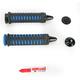 Black/Blue Braided Grips - 6332