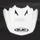 White Visor for CL-X7 Helmets - 0964-6001-09