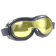 Black Airfoil Sunglasses w/Yellow Lens - 9312