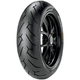 Rear Diablo-Rosso II 170/60ZR-17 Blackwall Tire - 2070300