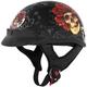 Grateful Dead Skull & Roses Half Helmet