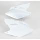 Kawasaki White Side Panels - KA03771-041