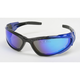 Blue C-4 RV Performance Sunglasses w/Blue RV Lens - C-4BLU/BLU