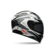 Black/Gray/White Qualifier DLX Clutch Helmet