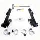 Black No-Tool Trigger-Lock Hardware Kits for Batwing Fairing - MEB1999