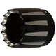 Black Afterburner End Cap for Super Elite 3 1/2 in. Slip-On Mufflers - 108-8035