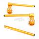 37mm Gold Clip-On Handlebars - 00-00187-23
