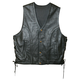 Mens Powerglide Leather Vest