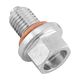 14mm/1.25 Steel Magnetic Oil Drain Plug - FHM050-S14-1.25