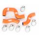 Orange Radiator Hose Kit - 1902-0782