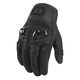 Black Justice Leather Gloves