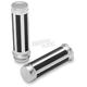 Chrome Razor Grips - 0630-1138