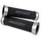Stainless Steel/Black D-Axis Grips - DXG-SS-BK