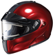 Metallic Wine IS-MAX BTSN Helmet w/Electric Shield