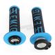 Black/Blue Emig V2 Lock-On Grips - H34EMBU
