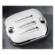 Grooved Handlebar Master Cylinder Cover - DS-373814