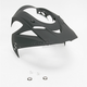 Black Rubatone Visor for Icon Variant Helmets - 0132-0530