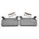 Organic Brake Pads - 1720-0207