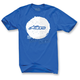Blue Copy Dot T-Shirt