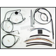 Black Pearl Designer Series Handlebar Installation Kit for Use w/15 in. - 17 in. Ape Hangers w/ABS - 487312