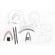Custom Sterling Chromite II Designer Series Handlebar Installation Kit for Use w/15 in. - 17 in. Ape Hangers - 387462