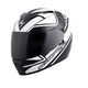 White/Black EXO-T1200 Freeway Helmet