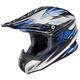 White/Black/Blue Factor RPHA-X Helmet