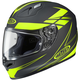 Black/Hi-Vis Force FG-17 Helmet