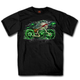 Black Skeleton Cycle T-Shirt