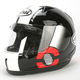 Black DNA RX-Q Helmet
