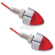 Single Function Bullet Mini Red LED Marker Lights - 402270