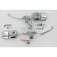 Chrome Smooth Contour Control Kits with TUV - 23265