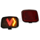 V LED Taillight - V-ROD-V-I-RED