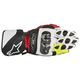 Red/Black/Fluorescent Yellow SP-1 Leather Glove