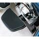 Black Adjustable Passenger Floorboard Mounts - HDPBLA-BK