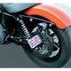 Non-Folding Side Mount License Plate Bracket - NFSM-05-C