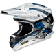 White/Black/Blue VFX-W Grant Helmet