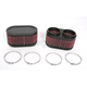 Oval-Type Custom Clamp-On Air Filter Kit - RU-2922