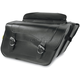 Standard High-Pipe Slant Saddlebags - SB600