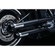 Black 2.5 in. Maverick Slip-On Mufflers - 612